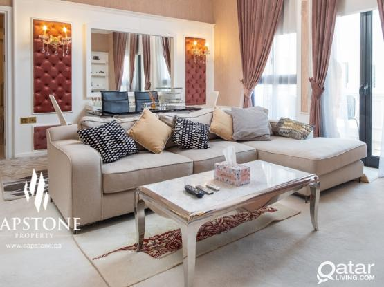 Serene Home 2 B/R Apt. at Qanat Quartier