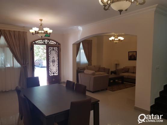 Fully furnished 5bhk compound villa ain khalid luxuryفلل فاخره مفروشه بمجمع بعين خالد
