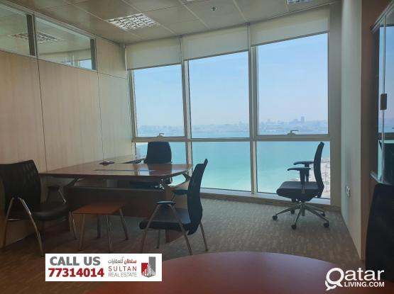 Office Space Business Center in Al Dafna -مكاتب
