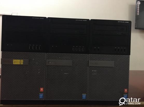 DELL/LENOVA/HP DESKTOP: CORE i7-16GB RAM-512GB SSD