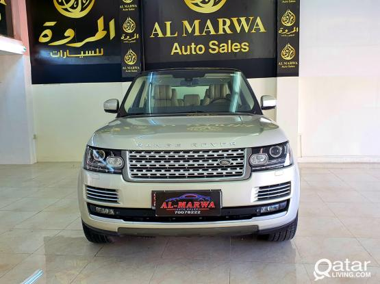 Land Rover Range Rover Vogue Supercharged 2014