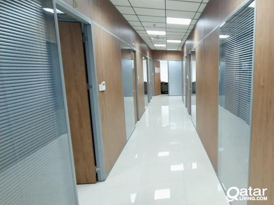Low Budget Offices! including all Utilities Available in Old Salata