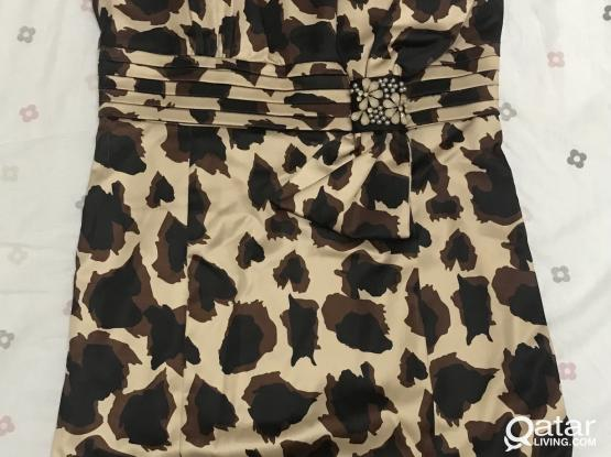 Cheetah Patterned Dress from ELLE