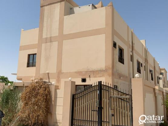 6 BHK stand alone villa for Rent Without AC for Sharing Family or Ladies Staff in Al Waab