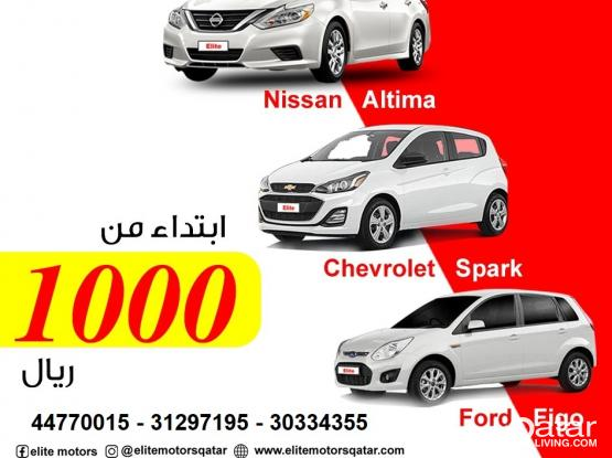 Rent a car for monthly
