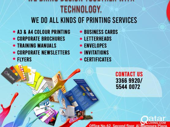 CALL US 3366 9920 | 5544 0072 DIGITAL PRINTING SERVICES FOR VERY LOW PRICE.