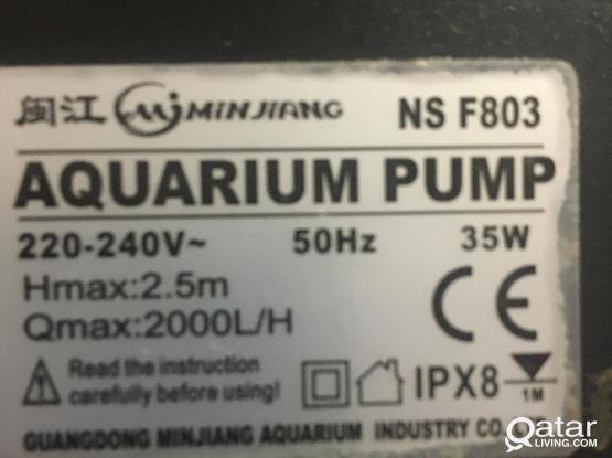 Aquarium Internal Filter 2000L/H