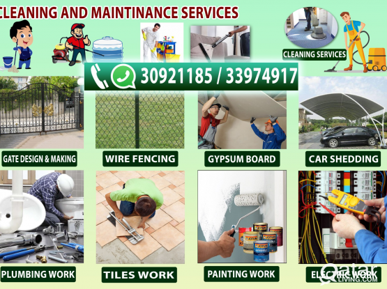 All maintainence services available