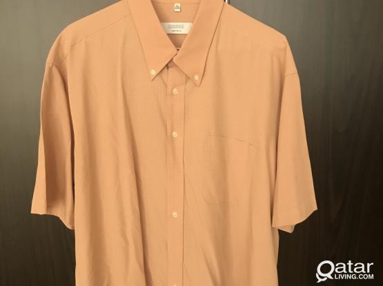 High quality shirt short sleeves