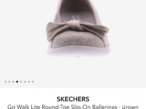 Skechers Walk Lite Slip-on Ballerinas