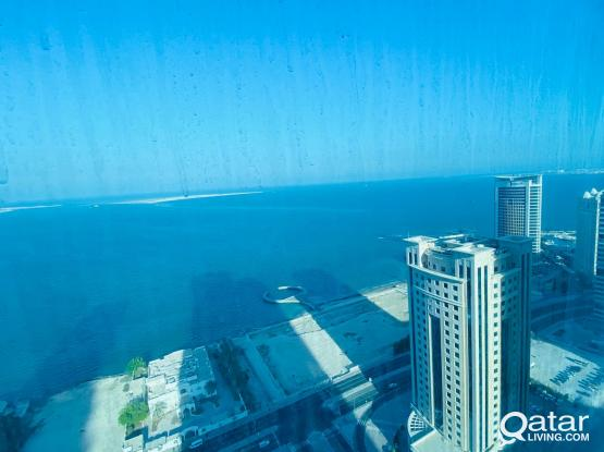 Sea view! Super luxuries Furnished 1 BR - All In