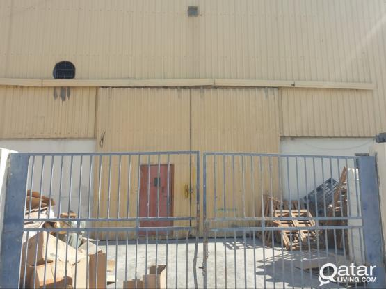 Warehouse &workshop 900 sq.m industrial area