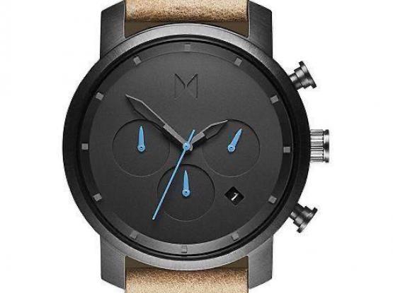 Men's Chrono Sandstone Leather Strap Negotiable