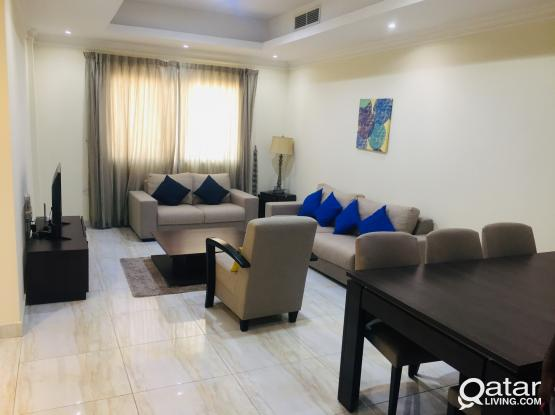 Fully Furnished 2-Bedrooms Apartment
