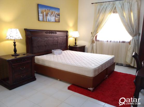 Fully Furnished 3-Bedrooms Apartment