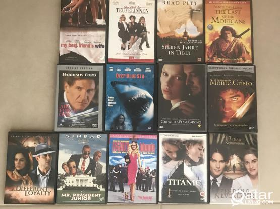 DVD with fascinating movies