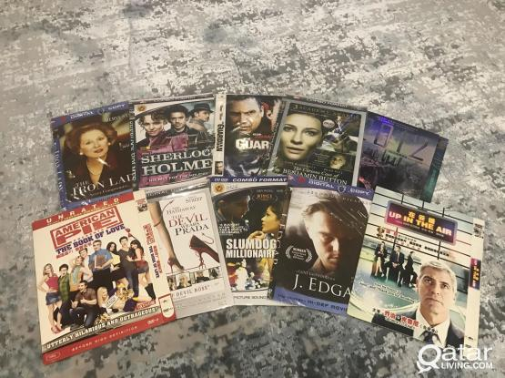 DVD movies with famous actors