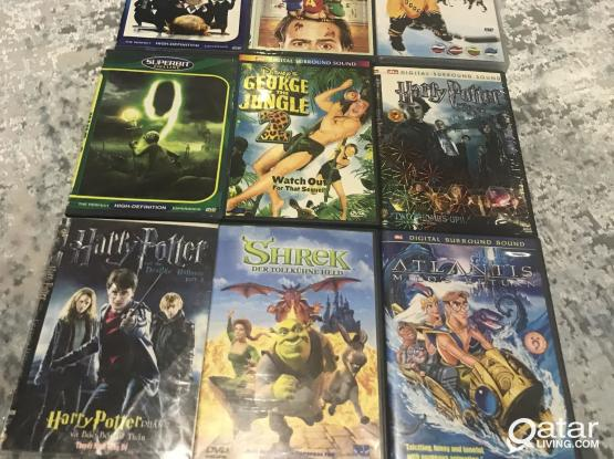 Family and kids DVD fun movies