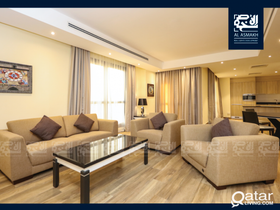 Luxurious 1-Bedroom Apt in Fox Hills, Lusail