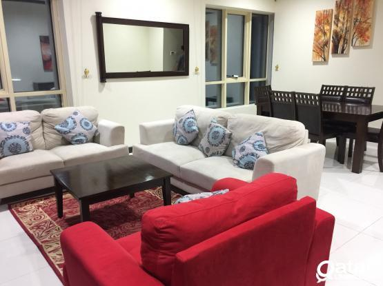 NO COMMISSION..INCLUDING ALL BILLS..FURNISHED 2 BHK APARTMENT , NEAR : CRAZY SIGNAL