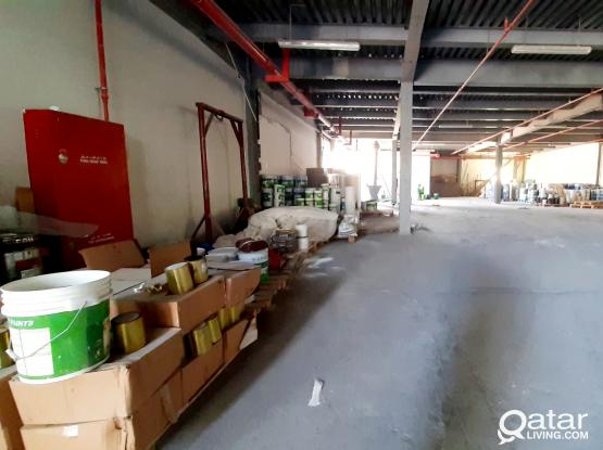 350 SQM PART OF STORE FOR RENT IN NEW INDUSTRIAL AREA