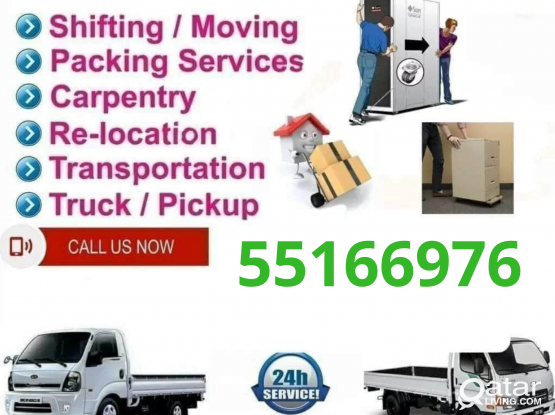 Professional Moving Service at A Reasonable price . Call 55166976