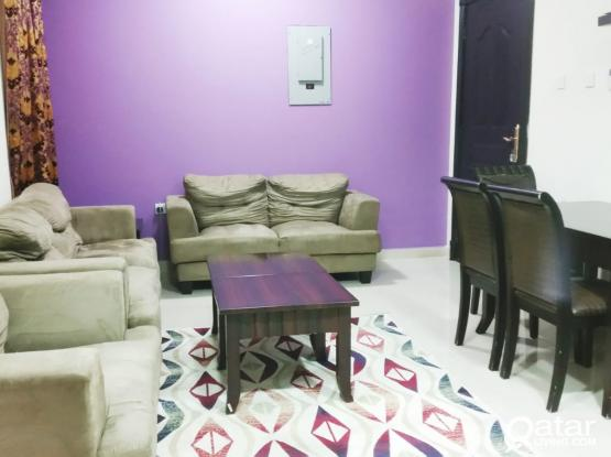 NO COMMISSION..INCLUDING ALL BILLS..FURNISHED 1 BHK  APARTMENT AT MUGHALINA