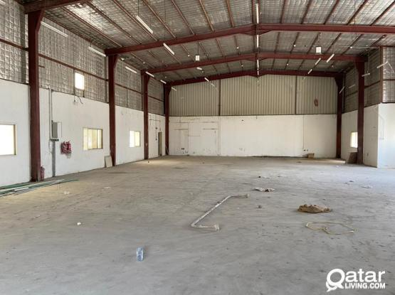 500 SQUARE METER STORE FOR RENT IN INDUSTRIAL AREA