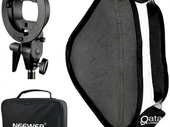 80x80 Softbox with S type bracket Bowens S mount holder