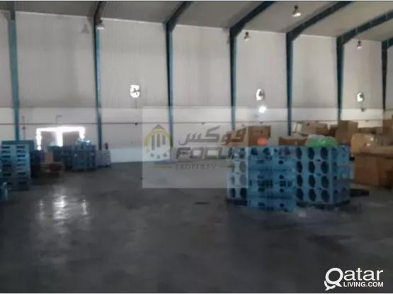 900sqm fully covered store at new industrial area