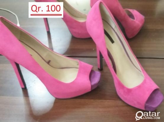 Zara Pink Lady Pointed Heels