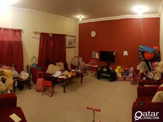 2 bedroom, family in wakra commercial street near sports corner,al aman gym and city gym