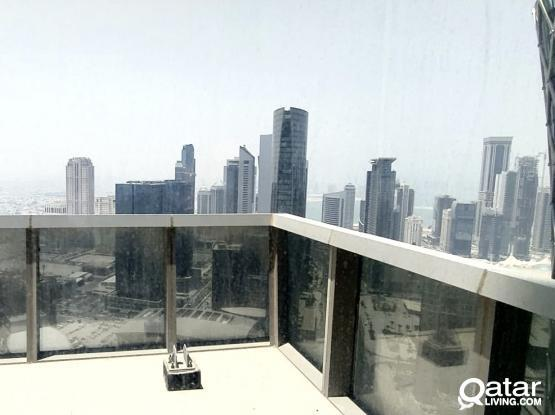 Excellent View!! 212 Sqm Fully Furnished Office Space Available in Westbay with Balcony