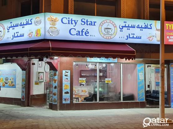 Coffee Shop full Decorated Sale/Rent in Bin Omran front area