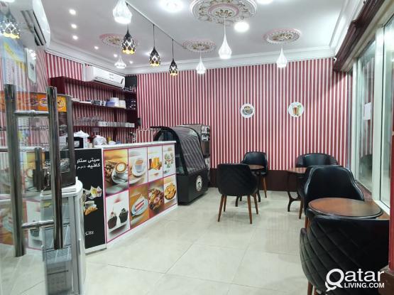 Well Furnished Cafe Rent/sale in Bin Omran area