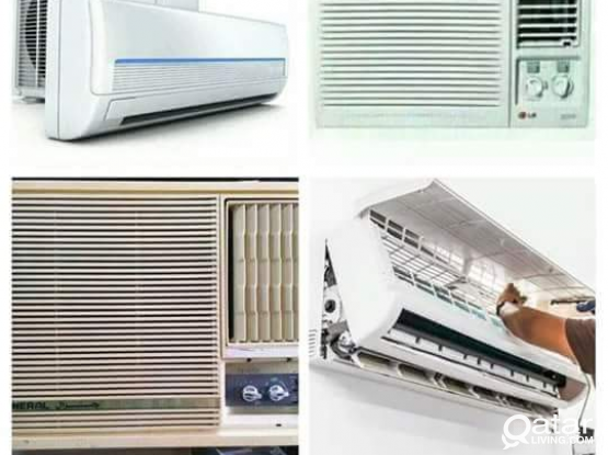 ♣A/C Sale (Low price) and Fixing, Servicing, Repai