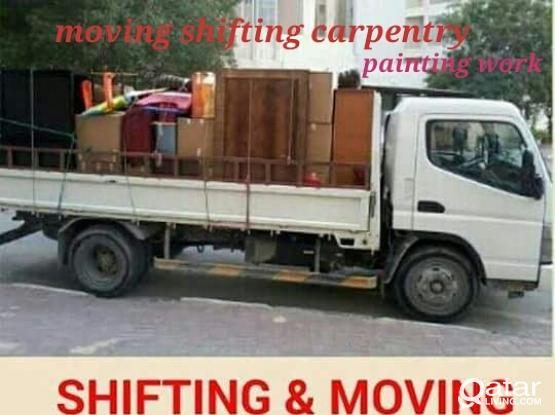 Low price = 66859983 moving,shifting,packing,carpenter. transportation,truck & pickup,painting & partition call me 66 85 99 83