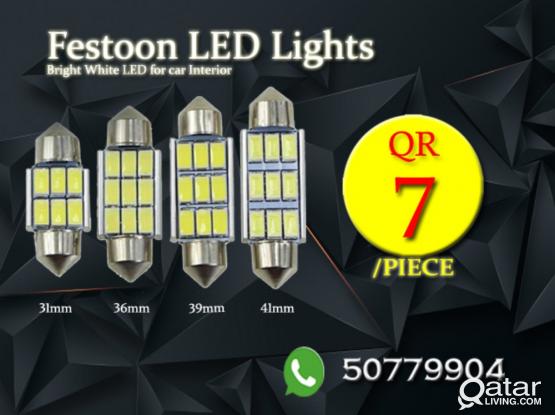 Festoon LED lights