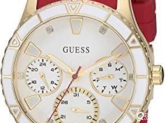 Red Guess Watch Unwanted Gift.