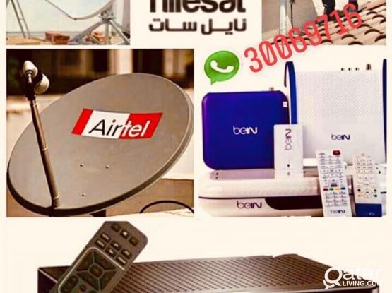 Airtel Dish Tv Internet Wifi Installation Repair