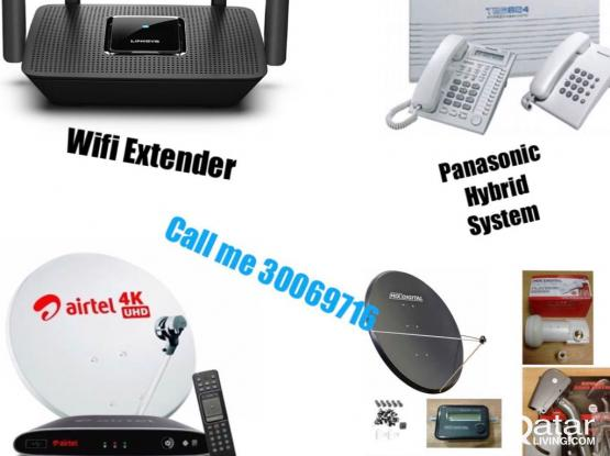 Internet WiFi Dish Tv Installation&Repaire
