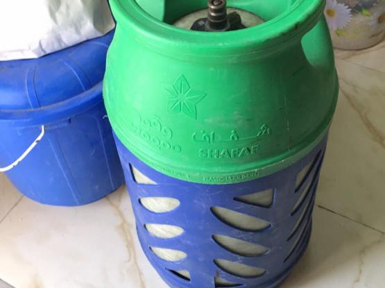 Empty Shafaf Gas Cylinder Free Delivery