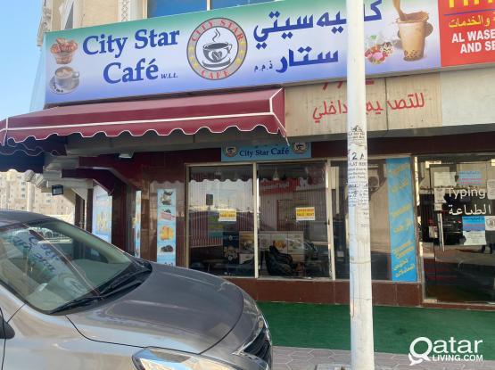 Well Decorated Coffee Shop urgent sale/Rent in Bin Omran