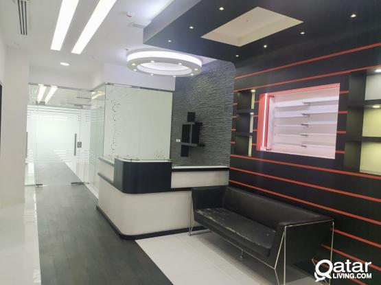 Excellent !!194 Sqm Fully Fitted Office Space Available in Salwa Road