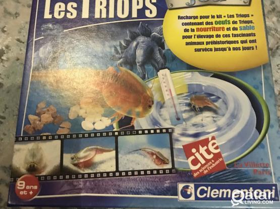 """"""" Triops"""" prehistoric animal kit (NEW)"""