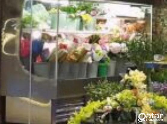 Flowers Refrigerator