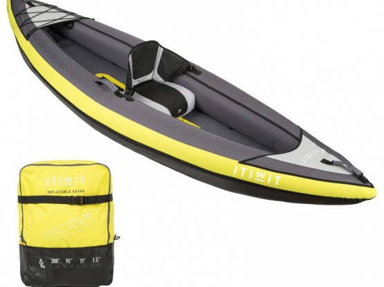 Itwit Kayak new with paddle