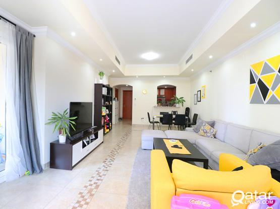 Amazing Offer | Best Views | 2 BDR Semi Furnished