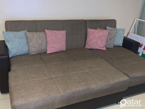 L Shape Couch Set