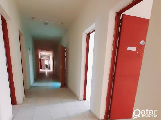 54 ROOMS (6X4) LABOUR CAMP FOR RENT IN INDUSTRIAL AREA